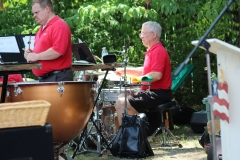 2019 July 4th - Our excellent drummers!