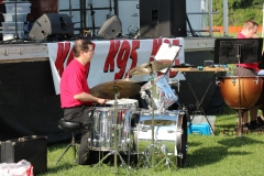 2019 Tomato Festival - Our guest drummer