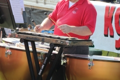 2019 Tomato Festival - Our own talented drummer